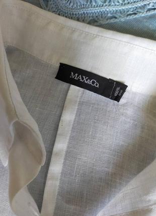 Белая рубашка max&co размер м3 фото