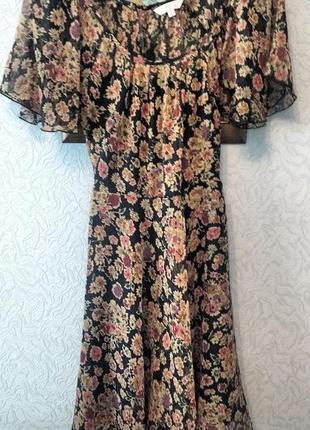 Легкое нежное летнее платье.