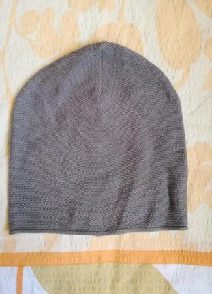 Хлопковая базовая шапка  tom tailor