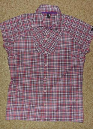 Женская трекинговая рубашка haglöfs tana q ss shirt