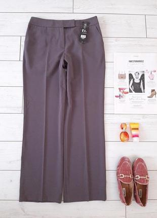 Классика_лаконичные брюки со стрелками на высокой посадке