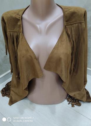 Тоненькая курточка, жакет3 фото