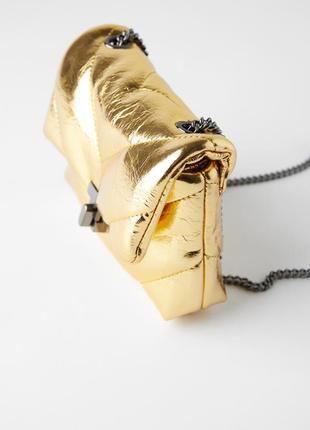 Сумка zara  , сумочка на цепочке через плечо zara.