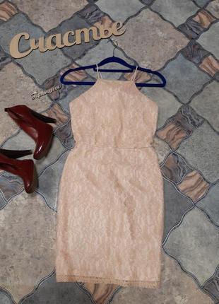 Нежное платье, размер s