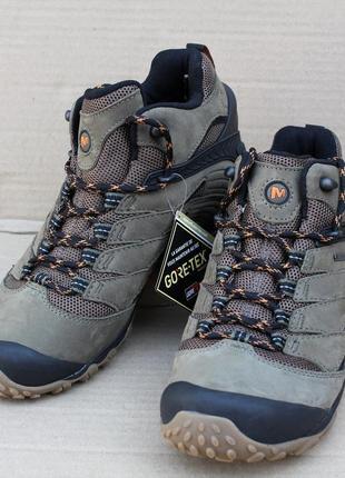 Ботинки merrell chameleon 7 mid gore-tex  j98279 мембрана оригінал