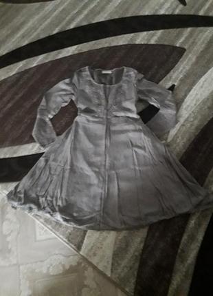 Стильное платье бохо кэжуал италия cream