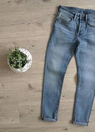 H&m  стильные джинсы в крутом цвете
