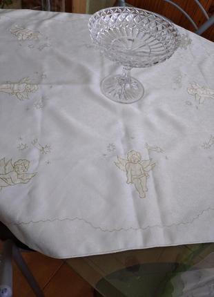Скатерка с ангелочками
