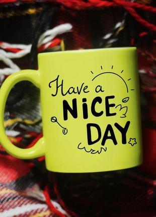Чашка nice day