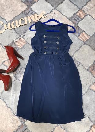 Легкое платье,размер s