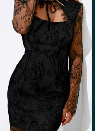 Новое, нарядное платье. шикарное кружево
