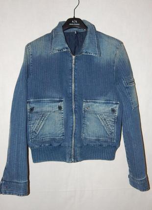 Куртка из денима cerruti 1881 jeans