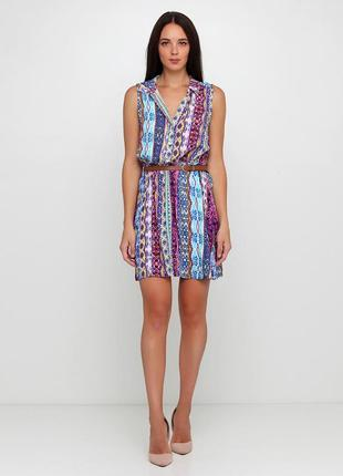 Легкое яркое платье сарафан george