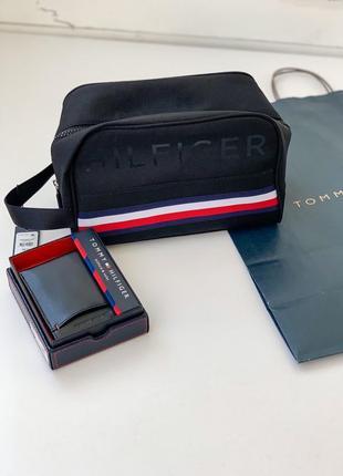 Косметичка,сумка мужская tommy hilfiger. томми хилфигер оригинал