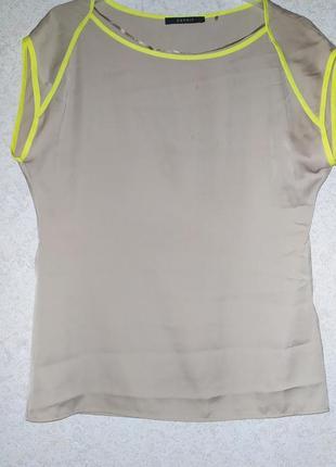 Футболка блуза блузка бренд esprit