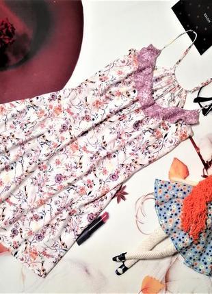 Ночная сорочка marks&spencer, 100% вискоза, размер 10/38 или м