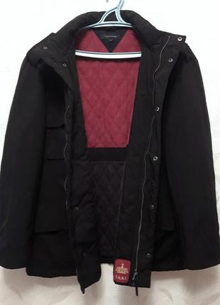 Тёплая брендовая куртка, 3xl, 54-56-58, tommy hilfiger, 100% оригинал
