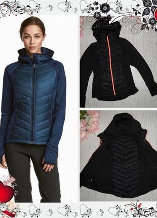 Обнова! новая куртка для бега h&m (р.m) курточка ветровка