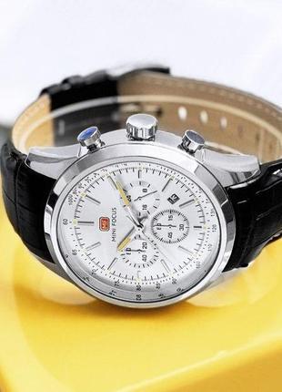 Мужские часы | классические часы mini focus mf0116g silver-black
