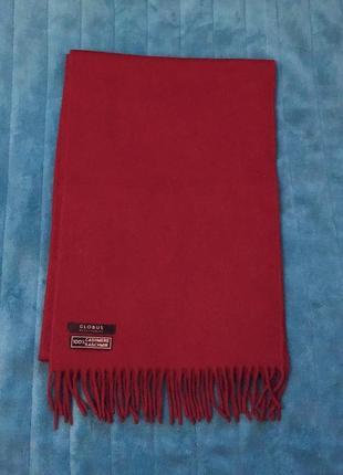 Кашемировый мягчайший шарф 100%шерсть globus accessories