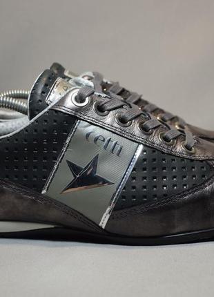 Туфли кроссовки cetti мужские кожаные. испания. оригинал. 43-44 р./29 см.
