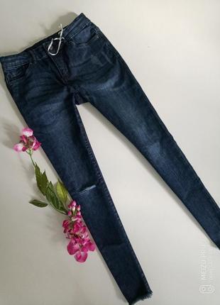 Крутие стильние рвание джинси скинни  от немецкого бренда pepperts, 152