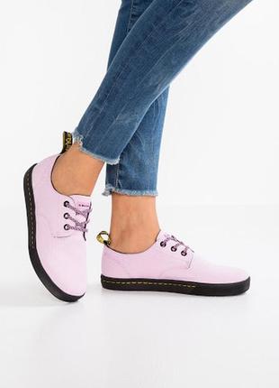 Стильные розовые кроссовки dr.martens
