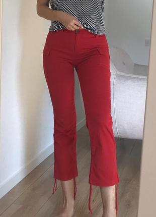 Стильные красные джинсы tally weijl