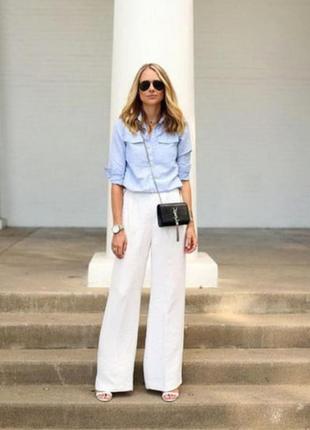 Білі брюки великого розміру