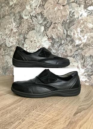 Waldlaufer 41 р кожа туфли кроссовки туфлі кросівки