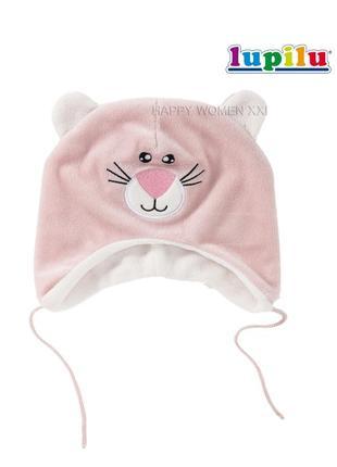 Осенняя шапочка для малышки