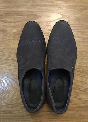 Туфли нат нубук