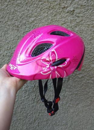 Защитный шлем met,46-53 см