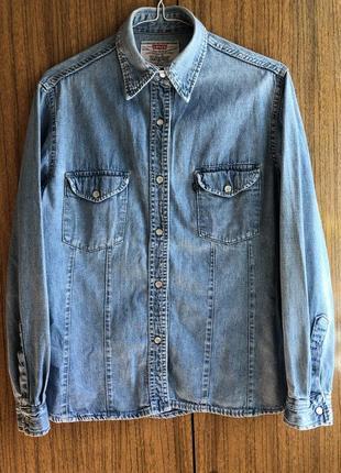 Джинсовка джинсовая курточка levi's