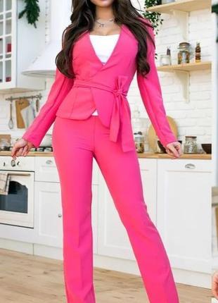 Распродажа!!! шикарный костюм тройка!!! яркие цвета!