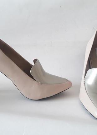 Geox туфли лоферы, натуральная кожа. новые, оригинал