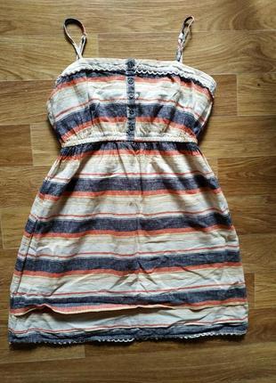 Платье лён, льняное
