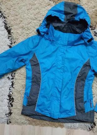 Фирменная термо куртка ветровка на подростка