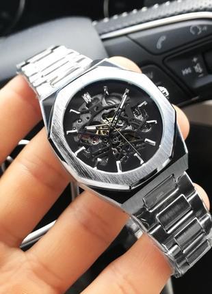 Часы gusto skeleton