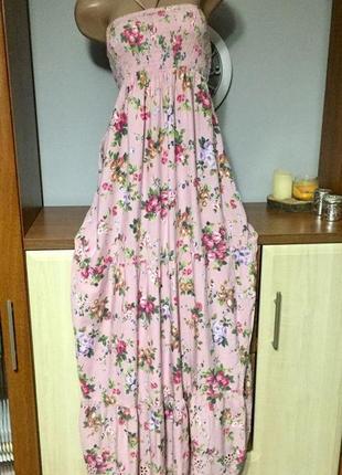 Сукня літня,платье летнее в пол accessorise,макси,длинное