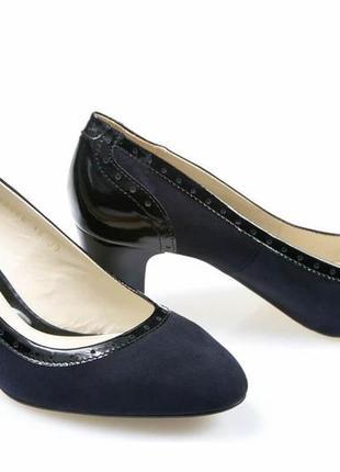 Туфли-лодочки новые кожаные, удобные, красивые и качественные. модель номер:175.