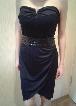 Маленькое черное платье mango!