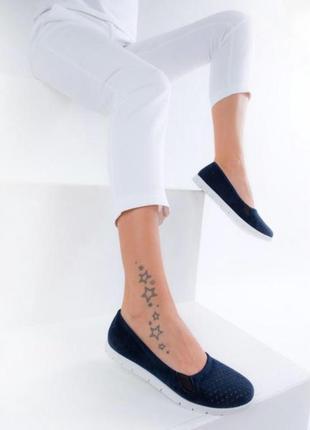 Синие молочные черные балетки мокасины слиперы эко кожа эк замш don ari 36 37 38 39 40