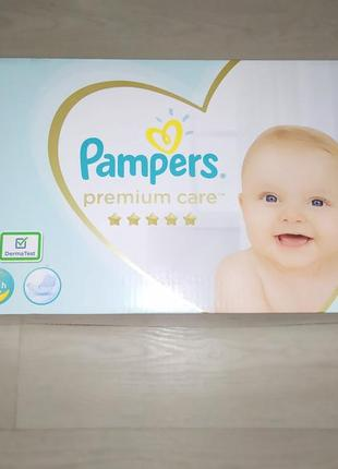 Подгузники памперс премиум pampers premium care размер 4