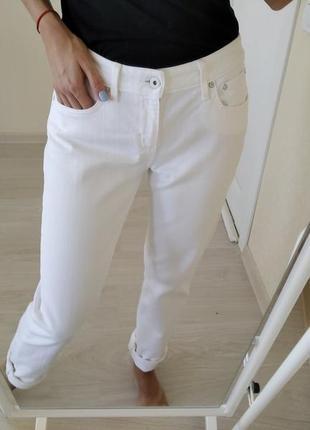 Брюки,джинсы белые levi's р.38