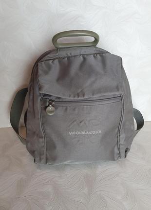 Фирменная сумка-рюкзак mandarina duck, оригинал
