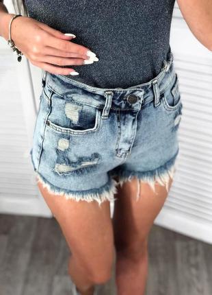Шикарні джинсові шорти