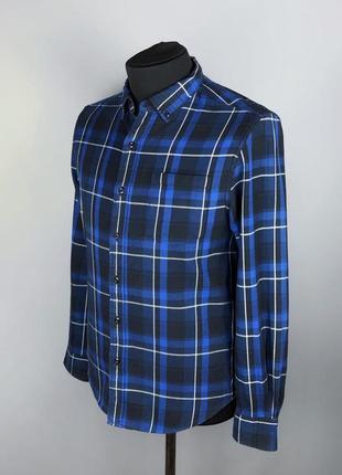 Фланелевая рубашка levi's premium оригинал размер м lacoste polo ralph