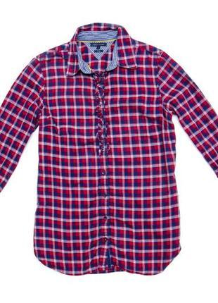 Женская рубашка tommy hilfiger. размер м