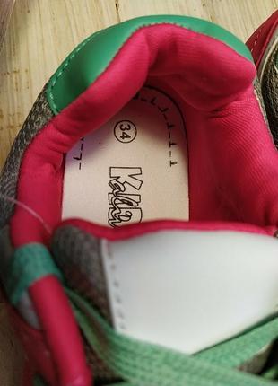 Классные кроссовки 34р alive